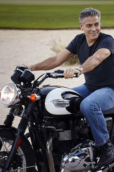 George- Clooney-Motorbike